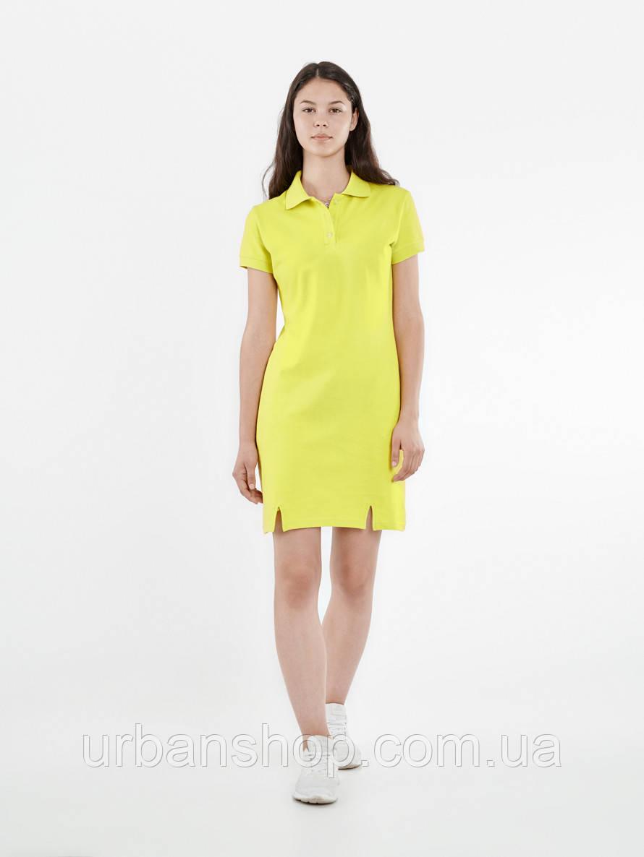 Платье поло ACID Urban Planet XS 100% котон Желтый UP 1-1-1-2-01