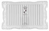 ТRIXIE Коврик под миску My Prince, 44х28 см, серый с полосками ТХ-24786