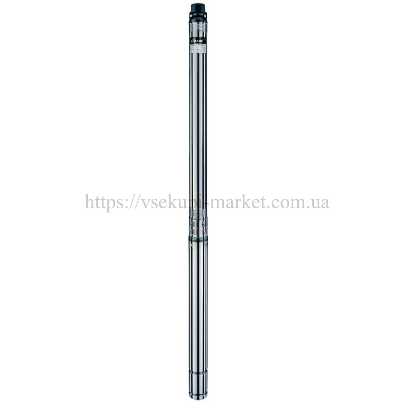 Скважинный трехфазный насос SPRUT 4SPW 10-110-5,5