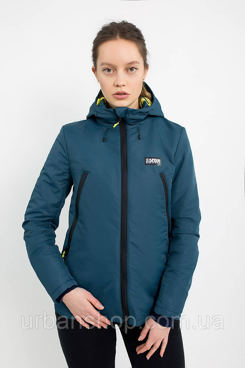 Куртка женская AW3 NVY Urban Planet M 100% поліестер Темно-синий UP 2-1-2-04