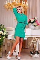 """Женское платье рубашечного покроя """"Модница"""", фото 1"""