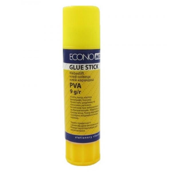 Клей-карандаш Economix PVA E41202 9 грамм