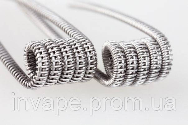 Проволока Half Staggered fused clapton (кантал), фото 2