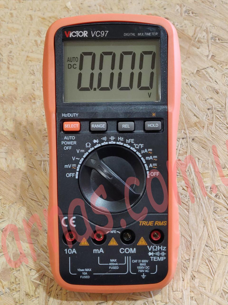 Мультиметр (тестер) Victor VC97 цифровой