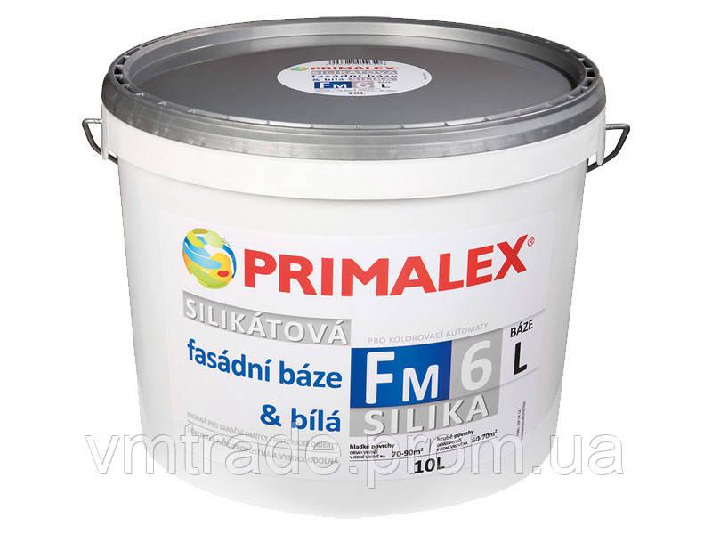 Краска База Silikát FM 6 L белая, 10 л