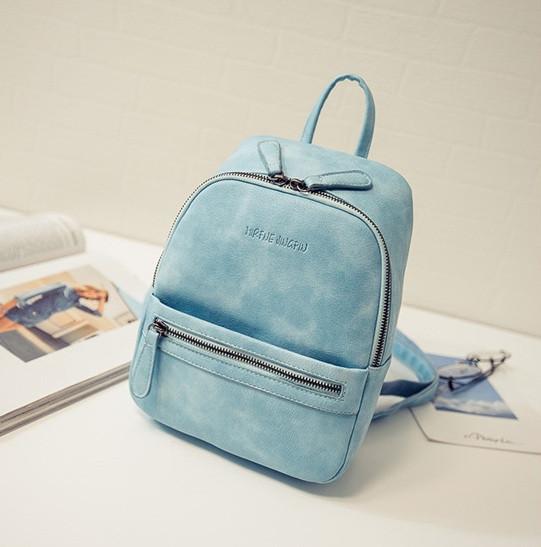 9fcc0813c7df Женский рюкзак маленький Бирюзовый