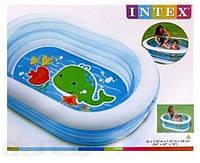 Детский надувной бассейн Intex 57482 Китенок, 163х107х46 см