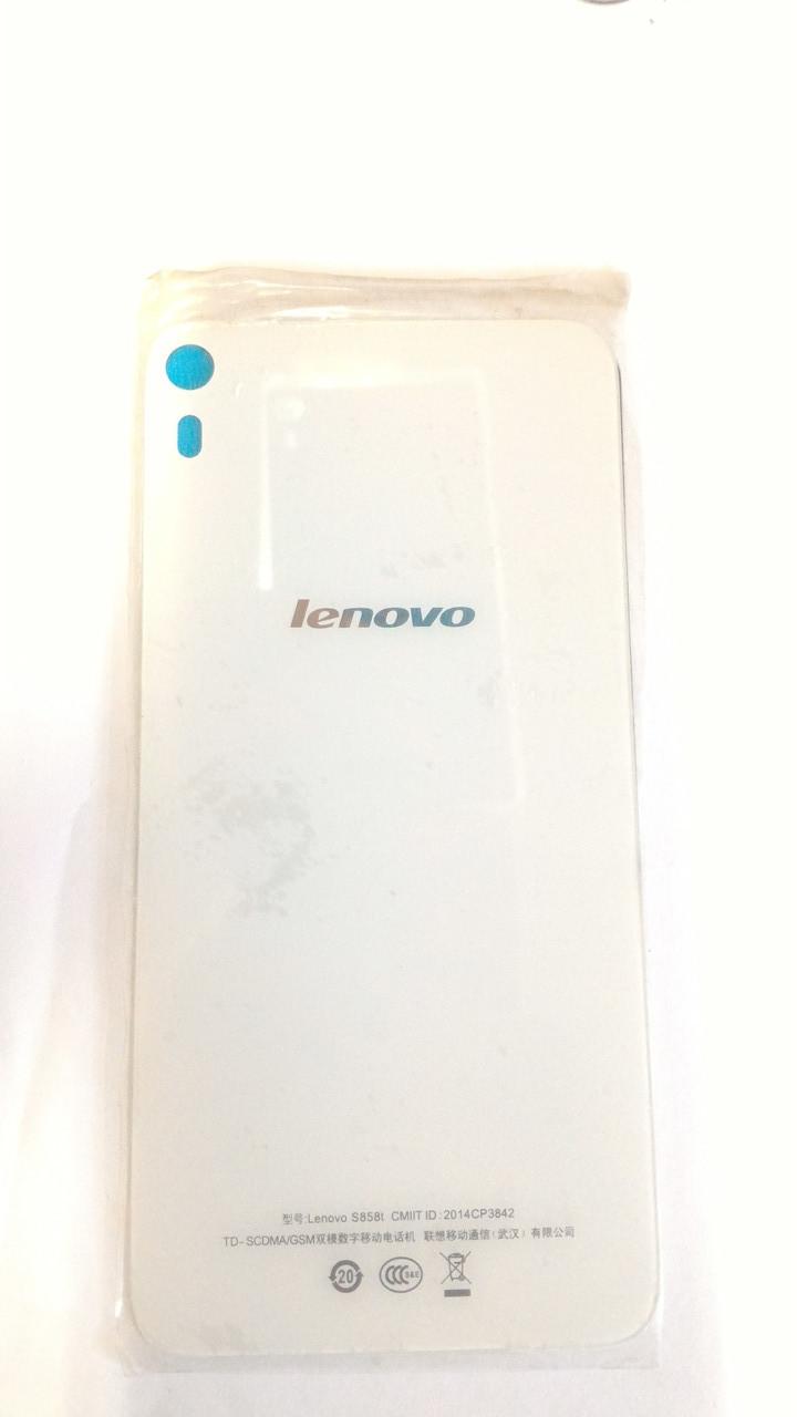 Заднее стекло для Lenovo S858T S858  крышка батарейного отсека задняя крышка