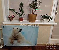 Стеклянный экран для радиатора.экран для батареи из стекла.экран из безопасного стекла.
