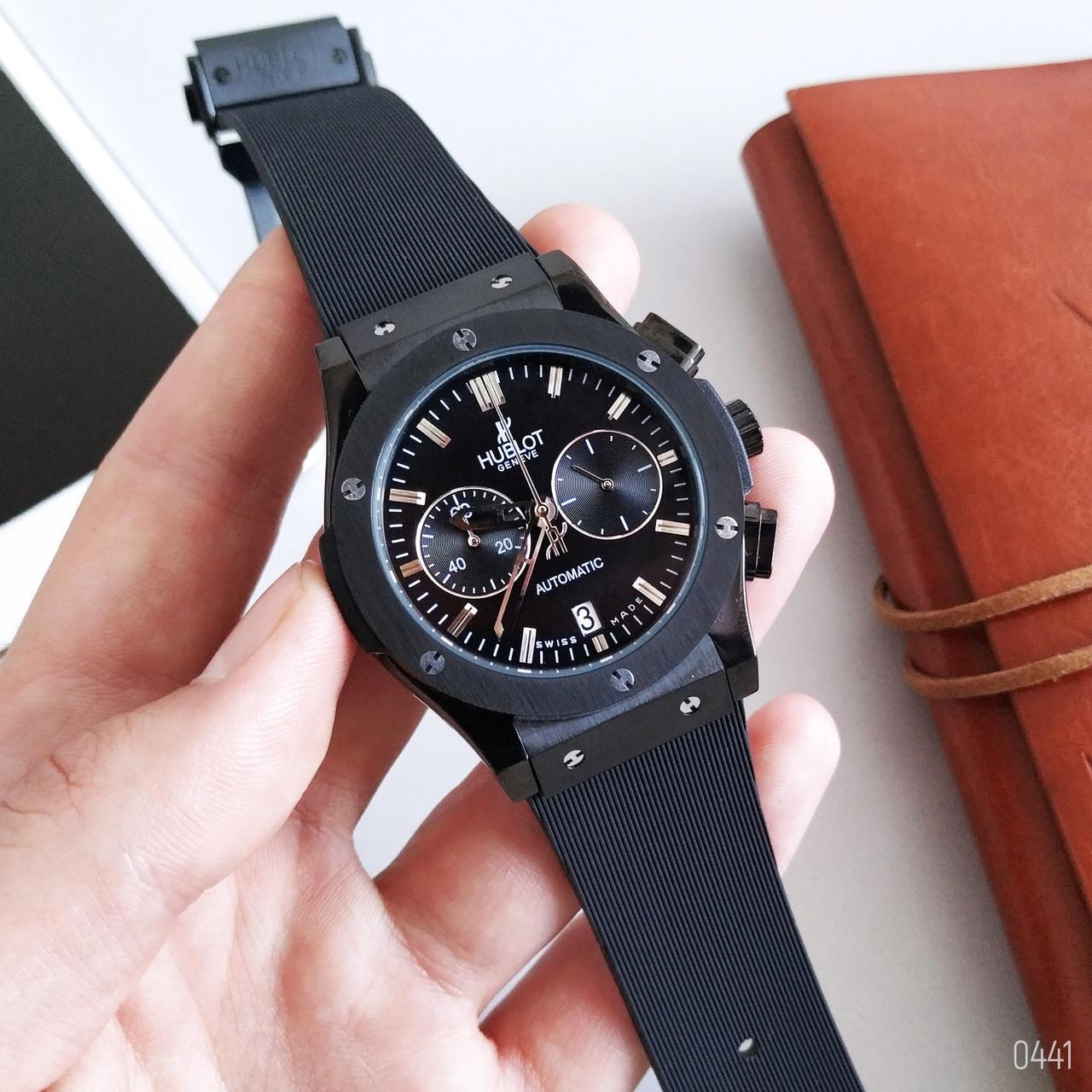 d4048ac9 Мужские Наручные Часы HUBLOT (Black) — в Категории