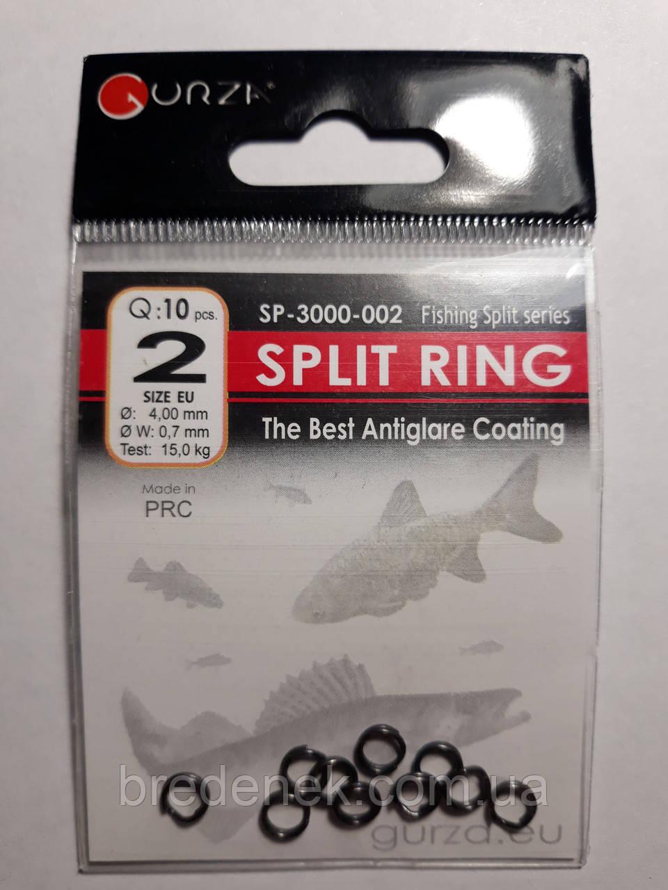 Кольца заводные split ring № 2
