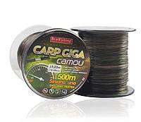 Леска карповая Bratfishing Carp DIGA camou/dark green/black 0,35mm 500m