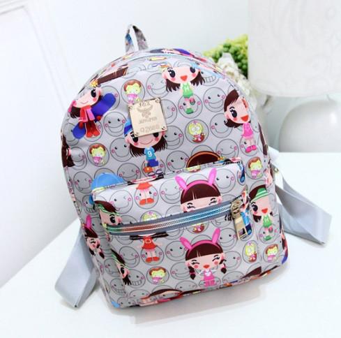 3369b08aa08b Детский рюкзак портфель для девочки Серый