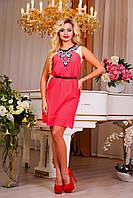 """Легкое женское платье """"Цветочный декор"""", фото 1"""