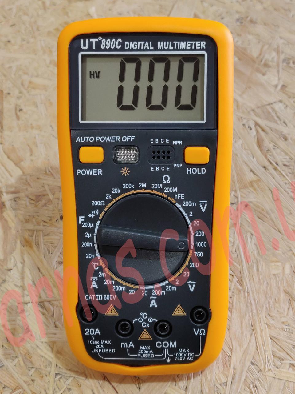 Мультиметр (тестер) Digital Multimeter UT(VC)890C цифровой