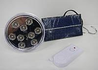 Лампа светодиодная YT-009 Солнечная батарея + пульт
