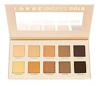 Палетка теней для век Lorac Unzipped Gold