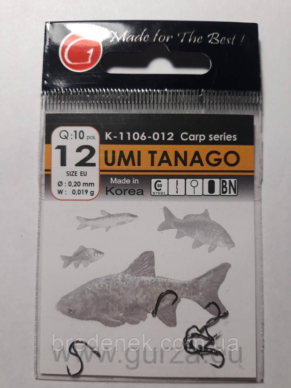Крючки Gurza umi tanago № 12