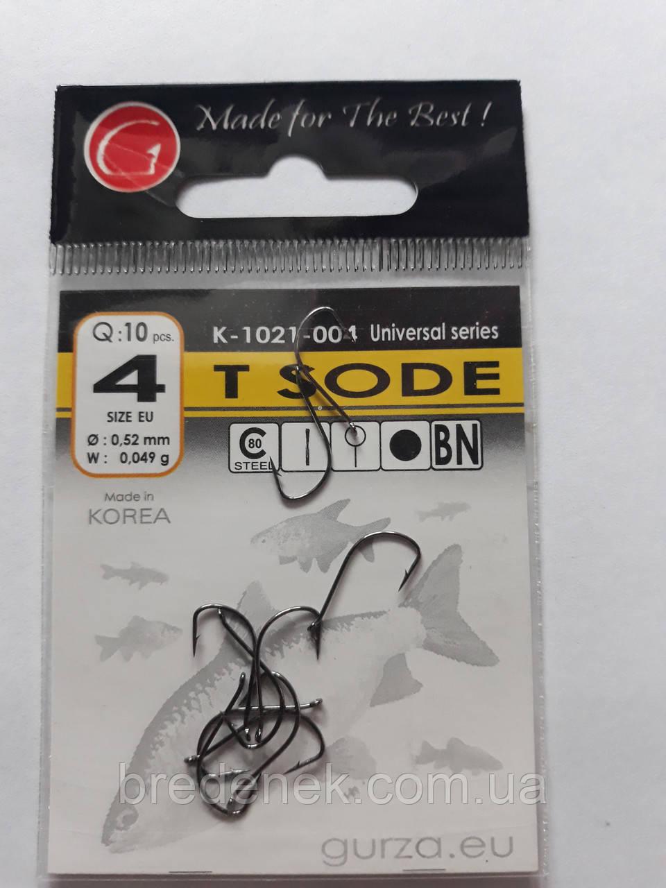 Крючки Gurza tokyo sode № 4
