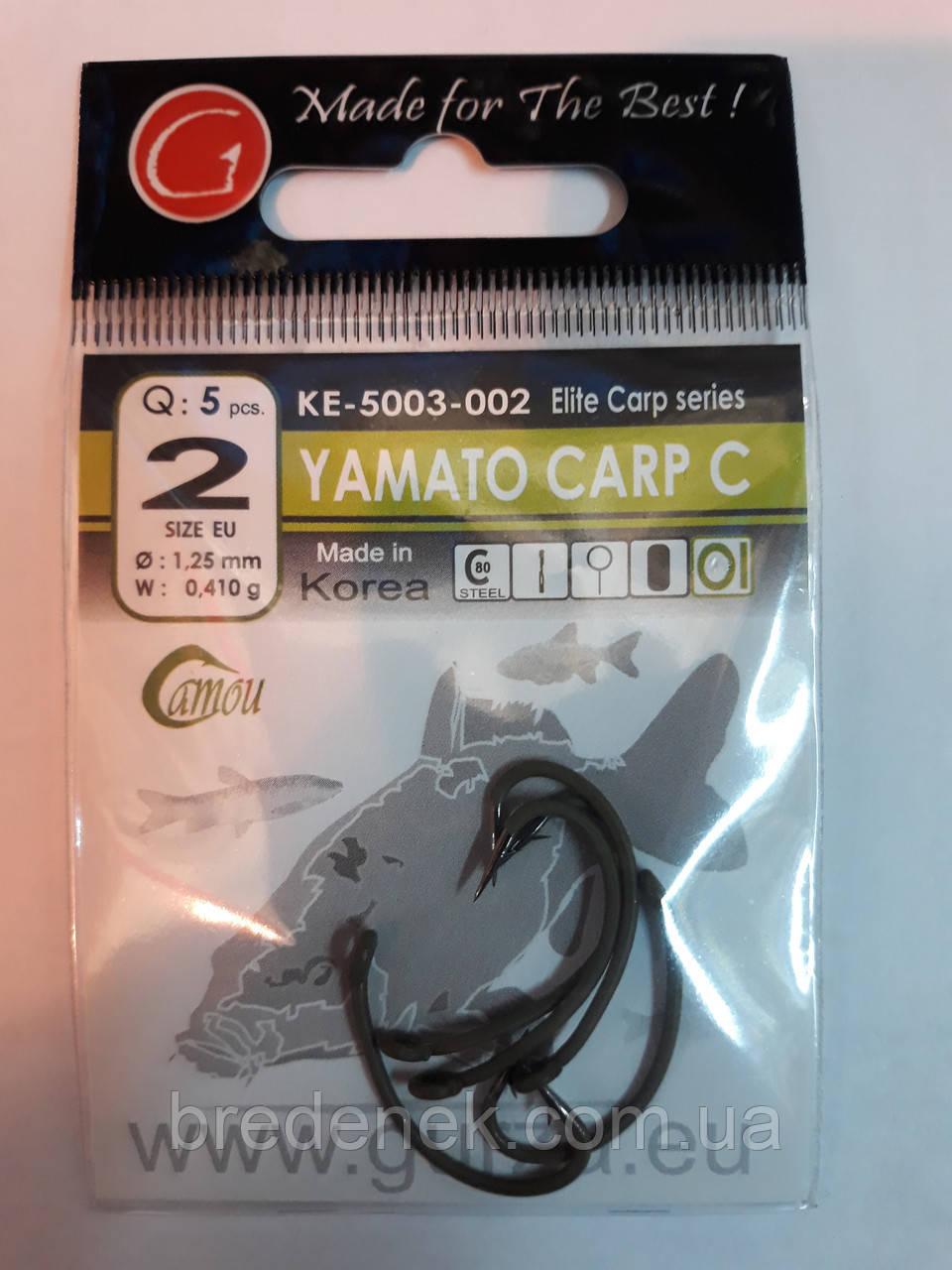 Крючки Gurza yamato carp c № 2