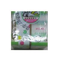 Губки кухонные Glycinia R85941 в упаковке 3шт, 10*7*3см, разные цвета, губки для мытья посуды, губки, мочалки, мочалка