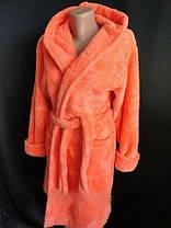 Махровые халаты до колен р.42-50, фото 3