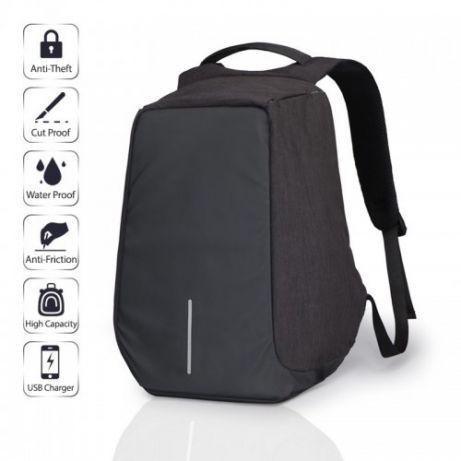 Рюкзак антивор Bobby с USB | Оригинал черный