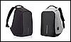Рюкзак антивор Bobby с USB   Оригинал   серый, фото 5