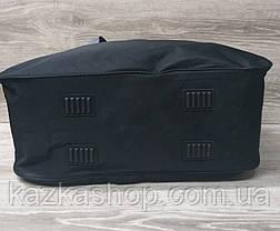 Дорожная сумка хорошего качества, среднего размера 50х33х20 см, плотный материал, ножки на дне сумке, фото 3