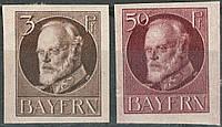 Бавария 1916 Sc#156, 166