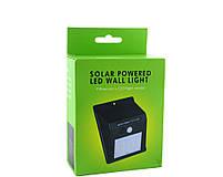 Уличный фонарь-светильник BL-609 20 LED с датчиком движения на солнечной батарее, фото 2