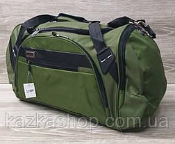 Дорожная сумка хорошего качества, большого размера 60х28х25 см, плотный материал, ножки на дне сумке, фото 2