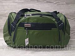 Дорожная сумка хорошего качества, большого размера 60х28х25 см, плотный материал, ножки на дне сумке, фото 3