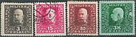 Босния и Герцеговина 1916 Sc#86, 91, 98, 102