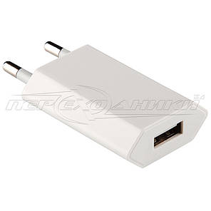 Сетевое зарядное устройство USB, 5V 1A (1USB), белый, фото 2