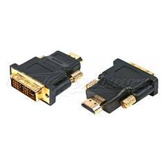 Переходник HDMI (M) - DVI (18+1 pin) (M)