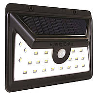 SOLAR INDUCTION LAMP 1828  32 LED настенный светильник с датчиком движения на солнечной панели