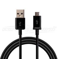 Кабель USB 2.0 - micro USB (хорошее качество), 1м черный