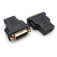 Переходник HDMI (F) - DVI (24+5 pin) (F)