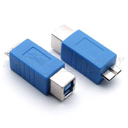 Переходник USB 3.0 micro BM - BF, фото 2