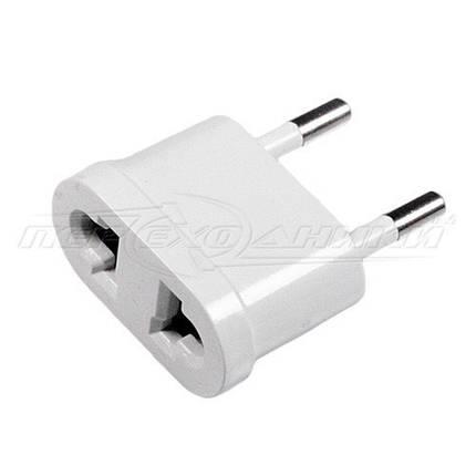 Электрический сетевой переходник 10A US, AU to EU, белый, фото 2