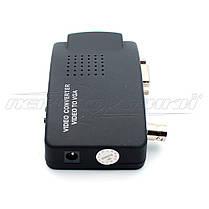 Конвертер BNC + S-Video to VGA, фото 2