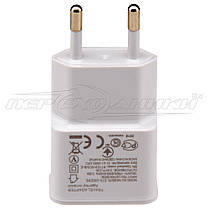 Сетевое зарядное устройство USB 5V 2A + кабель USB - micro USB, 0.9 м, фото 3