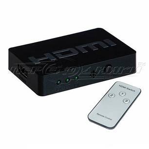 HDMI Switch 3x1 v1.4 с пультом, фото 2