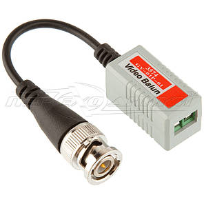 1-канальный пассивный приемник/передатчик BNC по витой паре GV-01HD P-03, фото 2