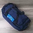 Дорожная сумка хорошего качества, среднего размера 50х25х20 см, плотный материал, ножки на дне сумке, фото 2