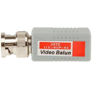 1-канальный пассивный приемник/передатчик BNC по витой паре GV-01P-02, фото 2