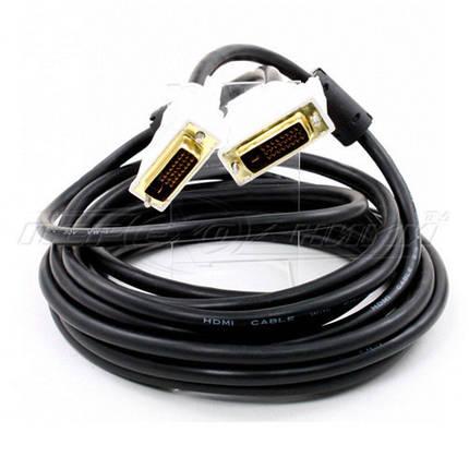 Кабель DVI - DVI dual link (24+1), 2 феррита, 4.5 м, фото 2