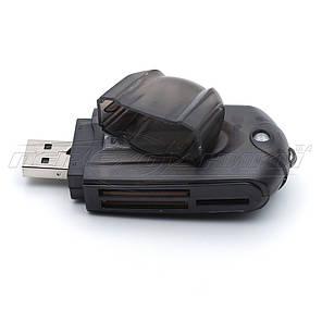Универсальный картридер USB 2.0 SD/SDHC/DV/Micro SD/Mini SD/M2 Card Reader, фото 2