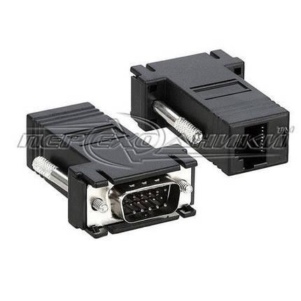 Удлинитель VGA (M/M) по витой паре до 30 м , фото 2